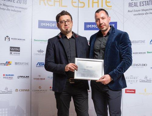 Cosmopolit, premiat în cadrul Galei Premiilor Real Estate 2018!